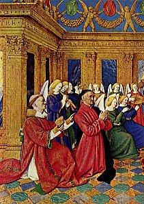 Etienne Chevalier et la Vierge par Fouquet (1)