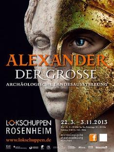 Exposition alexandre le grand rosenheim agenda allemagne