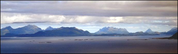 paysage marin Lofoten