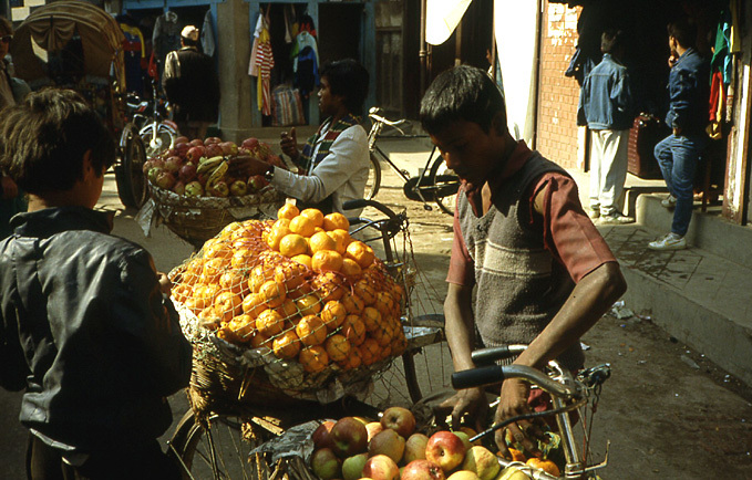 katmandou nepal fruits