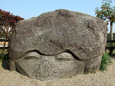 Asuka ; des pierres mystérieuses entourées de légendes près de Nara 1