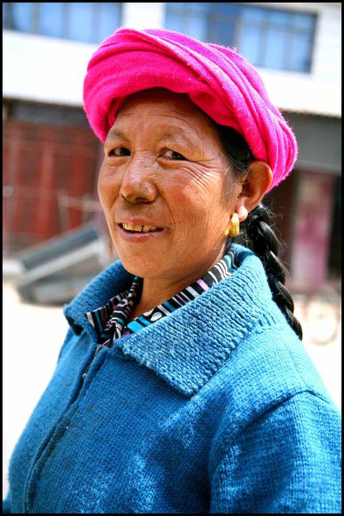 Blog - femme tibetaine