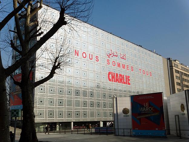 institut monde arabe est charlie