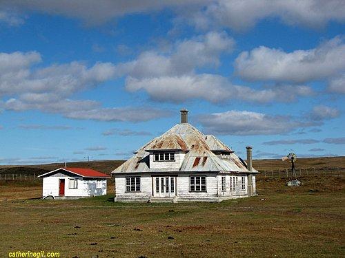 Une maison chilienne type