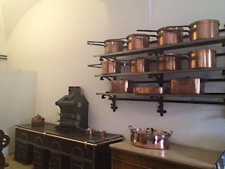 Cuisines et vaisselle des Châteaux de Louis 2 de Bavière 2