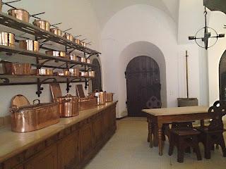 Cuisines et vaisselle des Châteaux de Louis 2 de Bavière 1