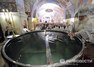 19 Janvier : fête orthodoxe de la Théophanie 1