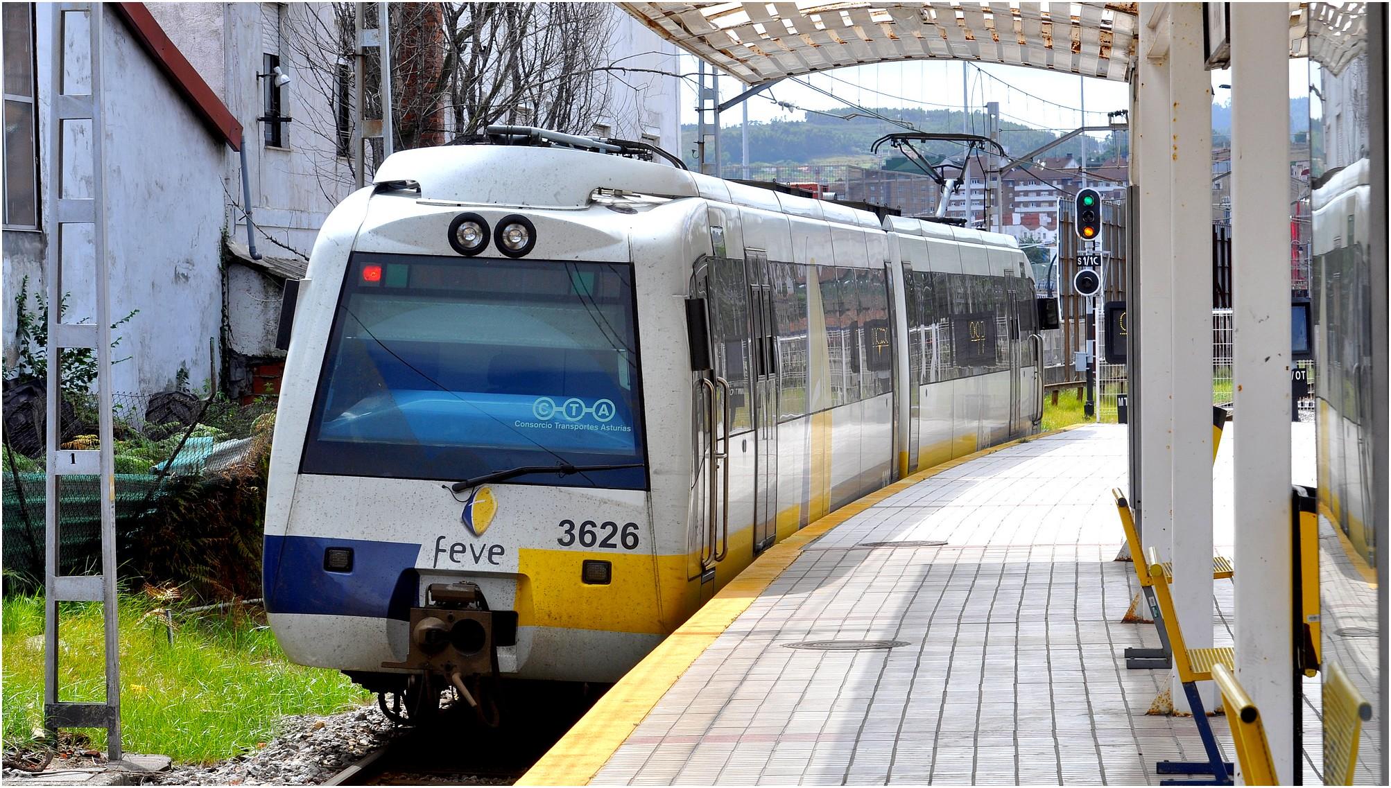 Voyage en Espagne - Train de la Feve en Asturies 8