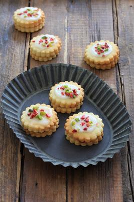 Hinbaersnitters ; recette danoise des petits gâteaux à la confiture de framboise 3