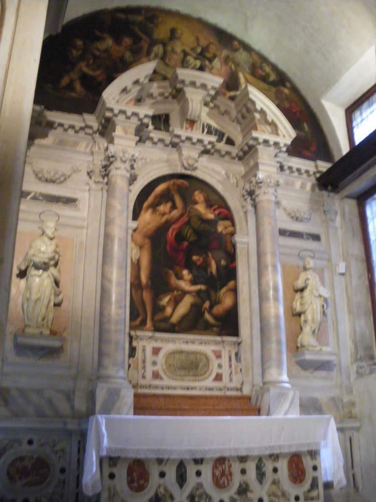 Pourtant, l'intérieur est très intéressant avec des peintures de G Bellini, T Lombardo...