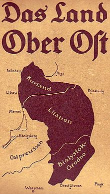 Histoire de Lituanie - Vilnius sous occupation allemande entre 1915 et 1918 1