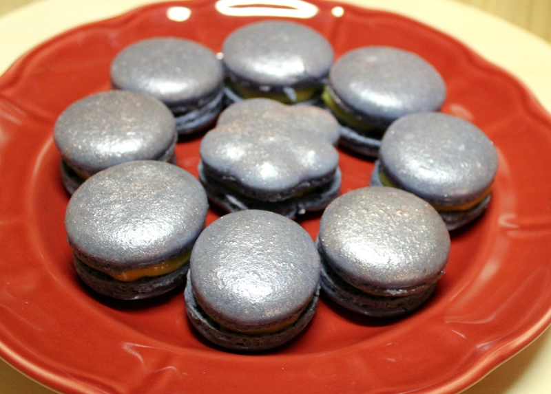 Macarons tonka fleur de sel fêtes