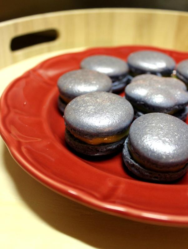 Macarons tonka fleur de sel fêtes (2)