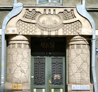 Le Riga Art Nouveau d'Eižens Laube (Tourisme Riga Lettonie) 5