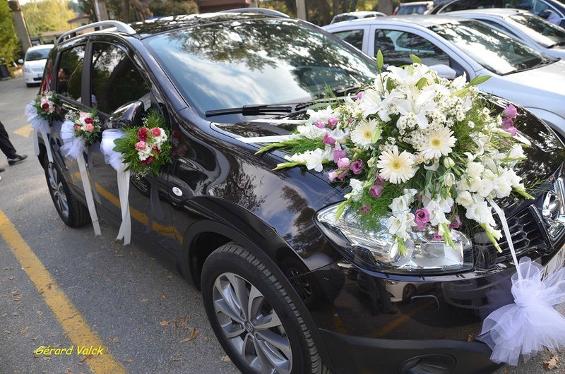 mariage istanbul voiture