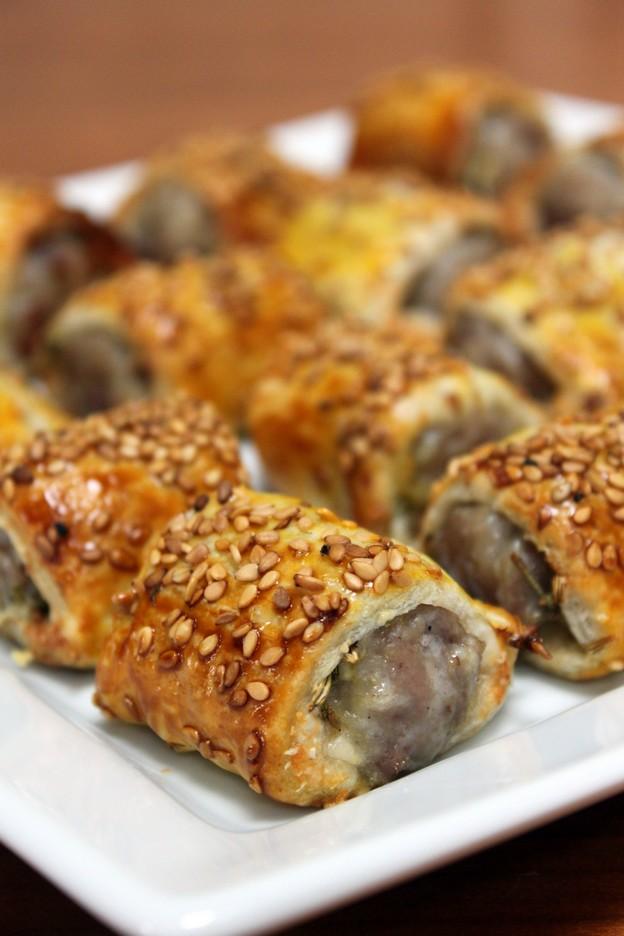 Feuillet s saucisses fenouil parmesan s same for Idee repas sympa