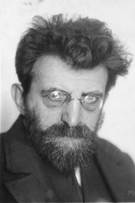 portrait Erich Muhsam