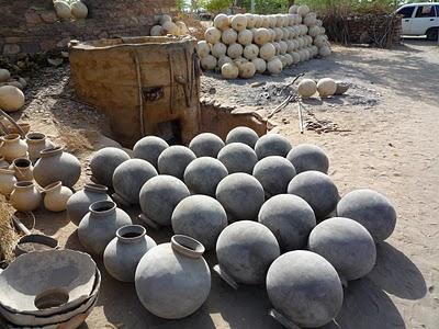 Promenade dans les villages Bishnois autour de Jodhpur : Le potier 3