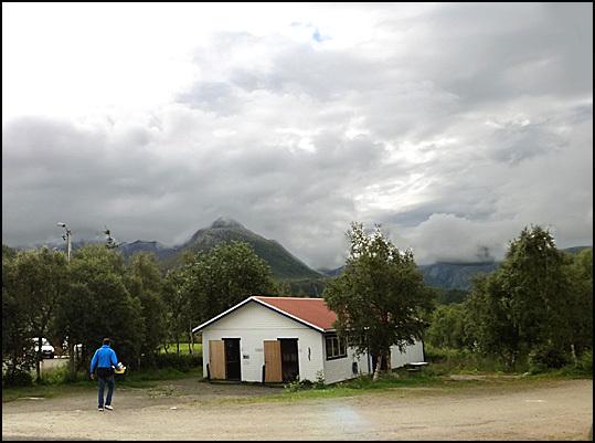 norvege iles Lofoten crepuscule