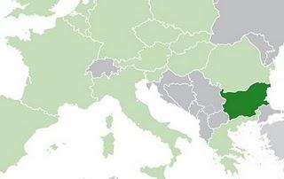 carte bulgarie europe
