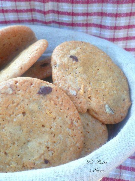 Cookies crunchy