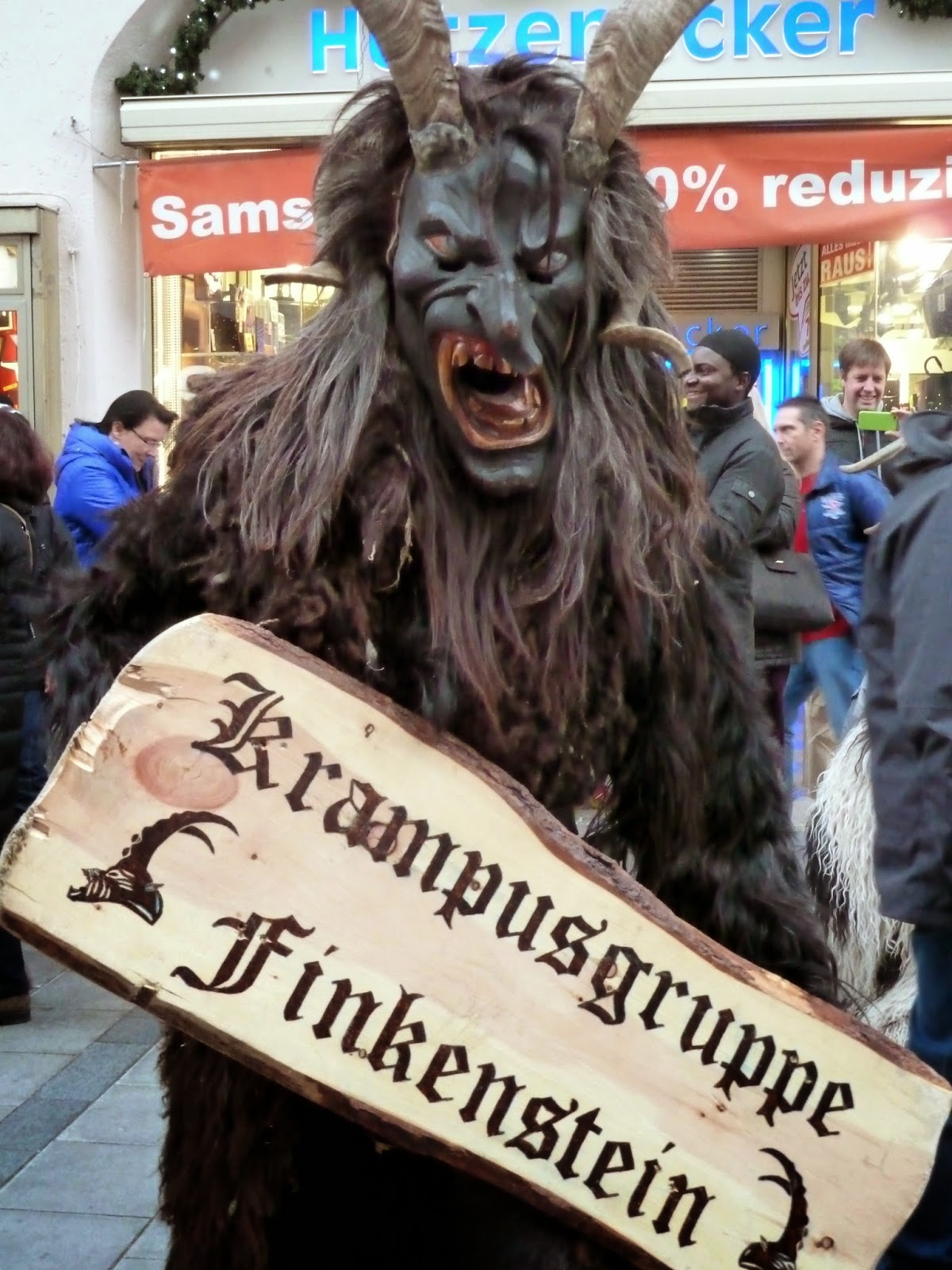 KRAMPUS à saint nicolas à Munich
