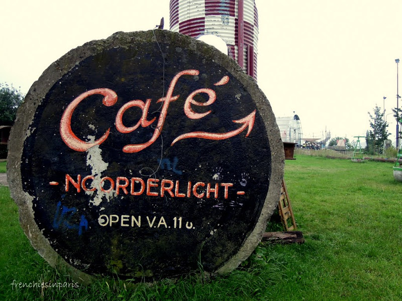 Amsterdam insolite et alternatif ; une zone industrielle abritant des ateliers d'artistes 10