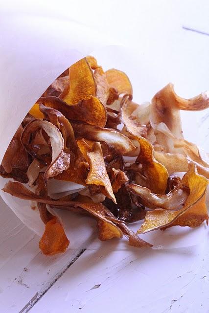 Recettes de légumes oubliés ou racines en chips, au four, en soupe 1