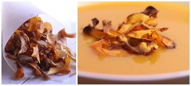 Recettes de légumes oubliés ou racines en chips, au four, en soupe 2