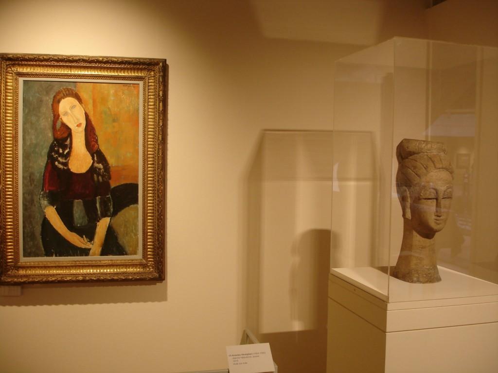 Exposition Modigliani et l'école de Paris à Martigny (Suisse) ; choc esthétique et émotionnel 3