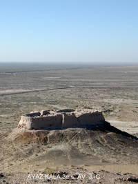 ayaz kala voyage ouzbekistan
