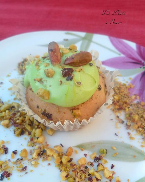 Cupcakes pistache