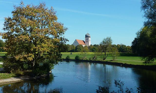 L'église Leiden Christi à Obermenzing ; jolie excursion depuis Munich en Baviere) 1