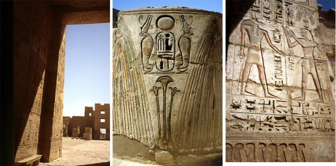 temple Ramsès III medinet habu b