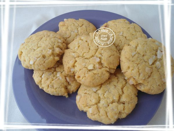 Cookies aux amandes et jaunes d'oeufs