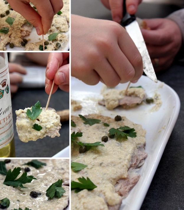 Vitello tonnato ; veau à la sauce onctueuse au thon (Recette cuisine italienne) 4