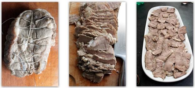 Vitello tonnato ; veau à la sauce onctueuse au thon (Recette cuisine italienne) 3