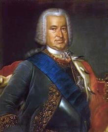 24 Mai 1736 : pose de la première pierre du palais de Rundāle (Lettonie) 2