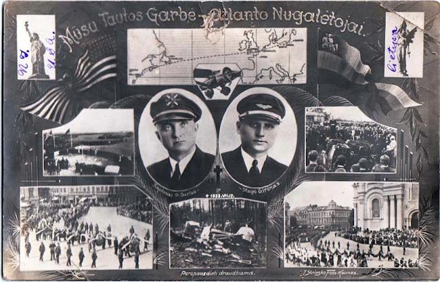 17 Juillet 1933 : mort tragique de Darius et Girėnas 7