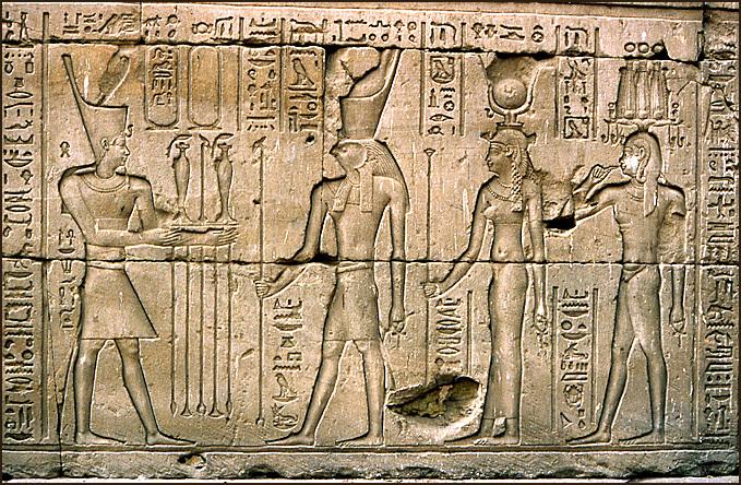 edfou horus et pharaon