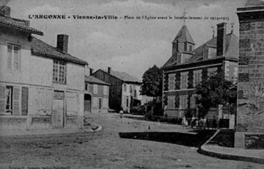 1ere guerre mondiale carte postale du front vienne
