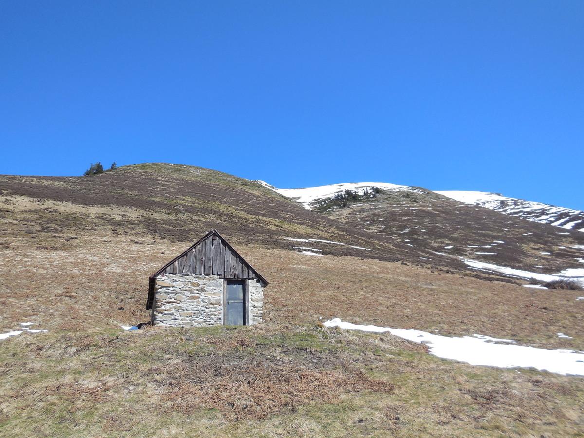 La cabane de Plan Pouné (1568 m)