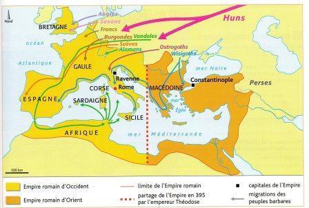 Carte division empire romain - Copie