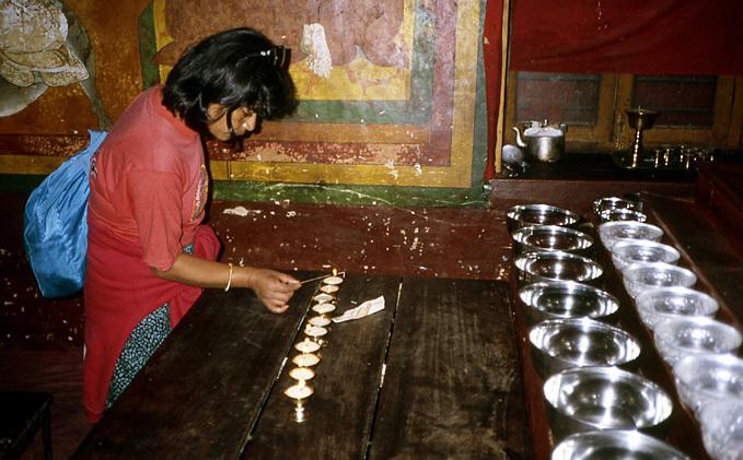 nepal tara nage gompa