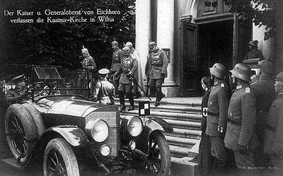 Histoire de Lituanie - Vilnius sous occupation allemande entre 1915 et 1918 5
