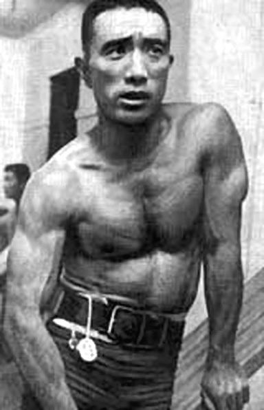 Yukio Mishima jeune