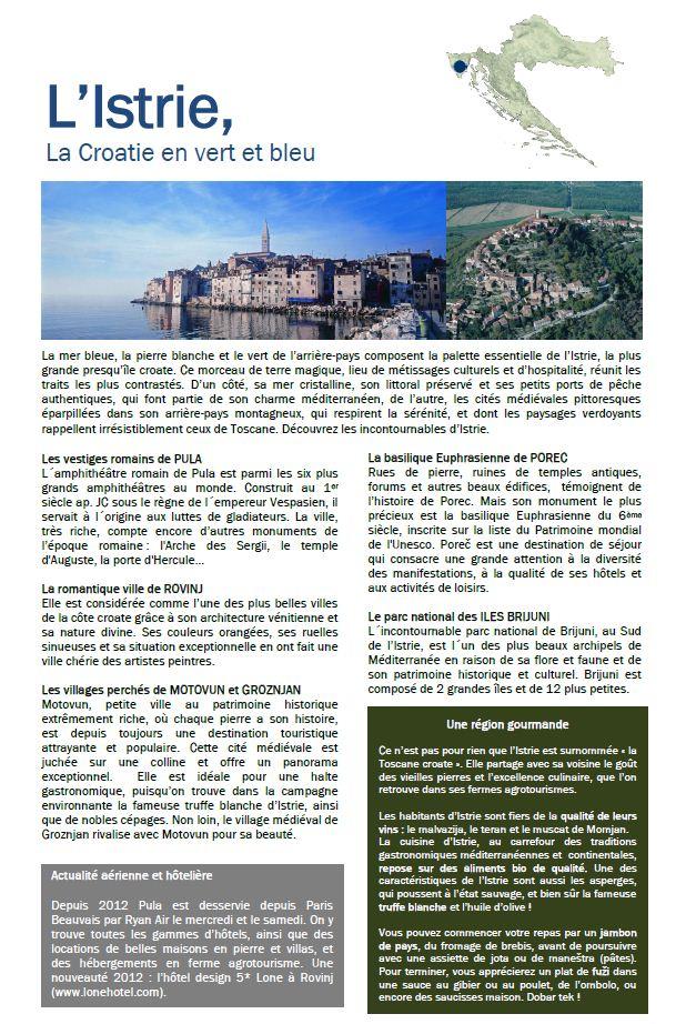 tourisme croatie istrie