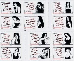 Le féminisme délicieusement timbré de Miss.Tic 1