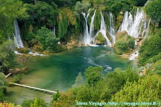 Kravice : lac et parc naturel de chutes en Bosnie-Herzégovine 18