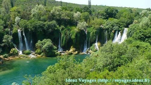 Kravice : lac et parc naturel de chutes en Bosnie-Herzégovine 19
